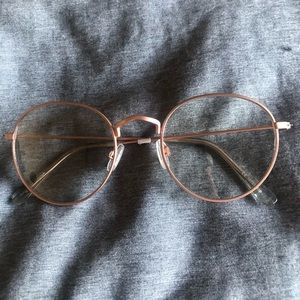 Accessories - Three pairs of clear glasses